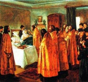 Таинство Соборования