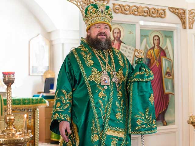 Епископ Талдыкорганский Нектарий возглавил торжества по случаю престольного праздника Свято-Ксениевского храма города Капчагай