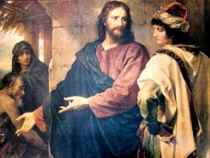 Христос и богатый юноша. Hofmann Art Prints Gallery