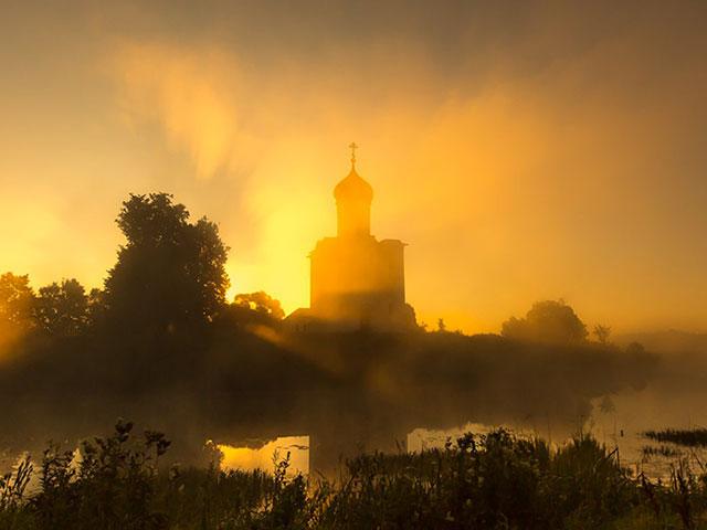 Андрей Блаженный увидал Покров - иеромонах Аверкий