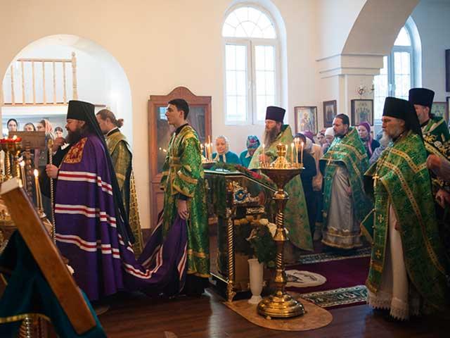 Престольный праздник Свято-Ксениевского храма города Капчагай