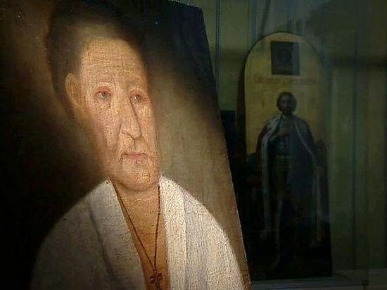 Прижизненный портрет блаж. Ксении Петербургской
