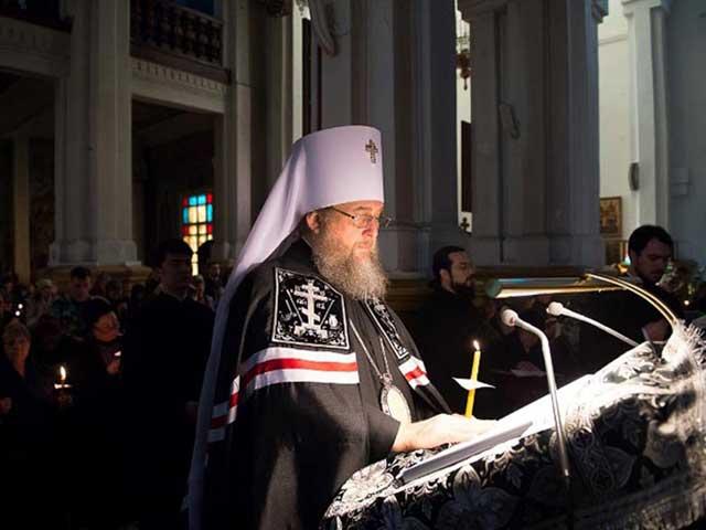 Обращение митрополита Астанайского и Казахстанского Александра перед началом Великого поста