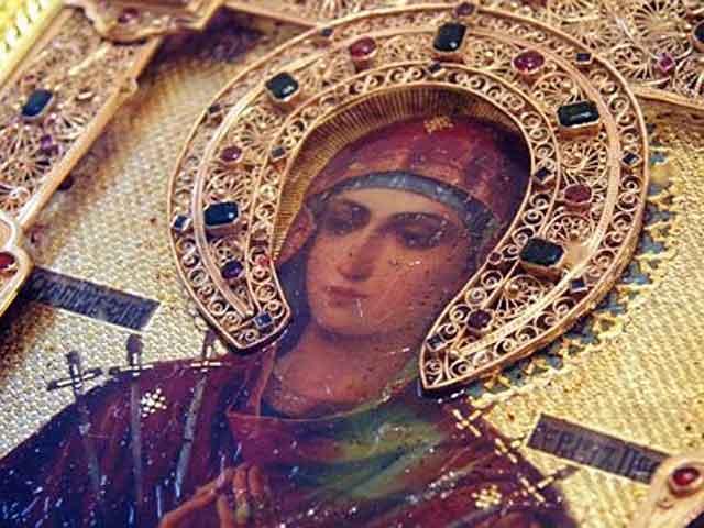 В Казахстан доставлена мироточивая икона Пресвятой Богородицы «Умягчение злых Сердец»