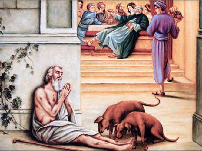 Притча о богаче и бедном Лазаре