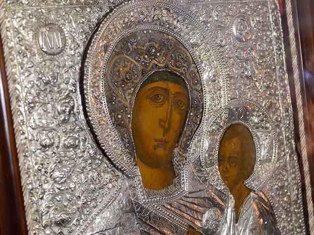 Дар Президента Казахстана – Тихвинская икона Божией Матери – представлена православным верующим
