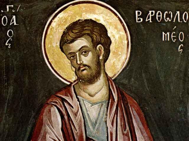 Святой апостол Варфоломей